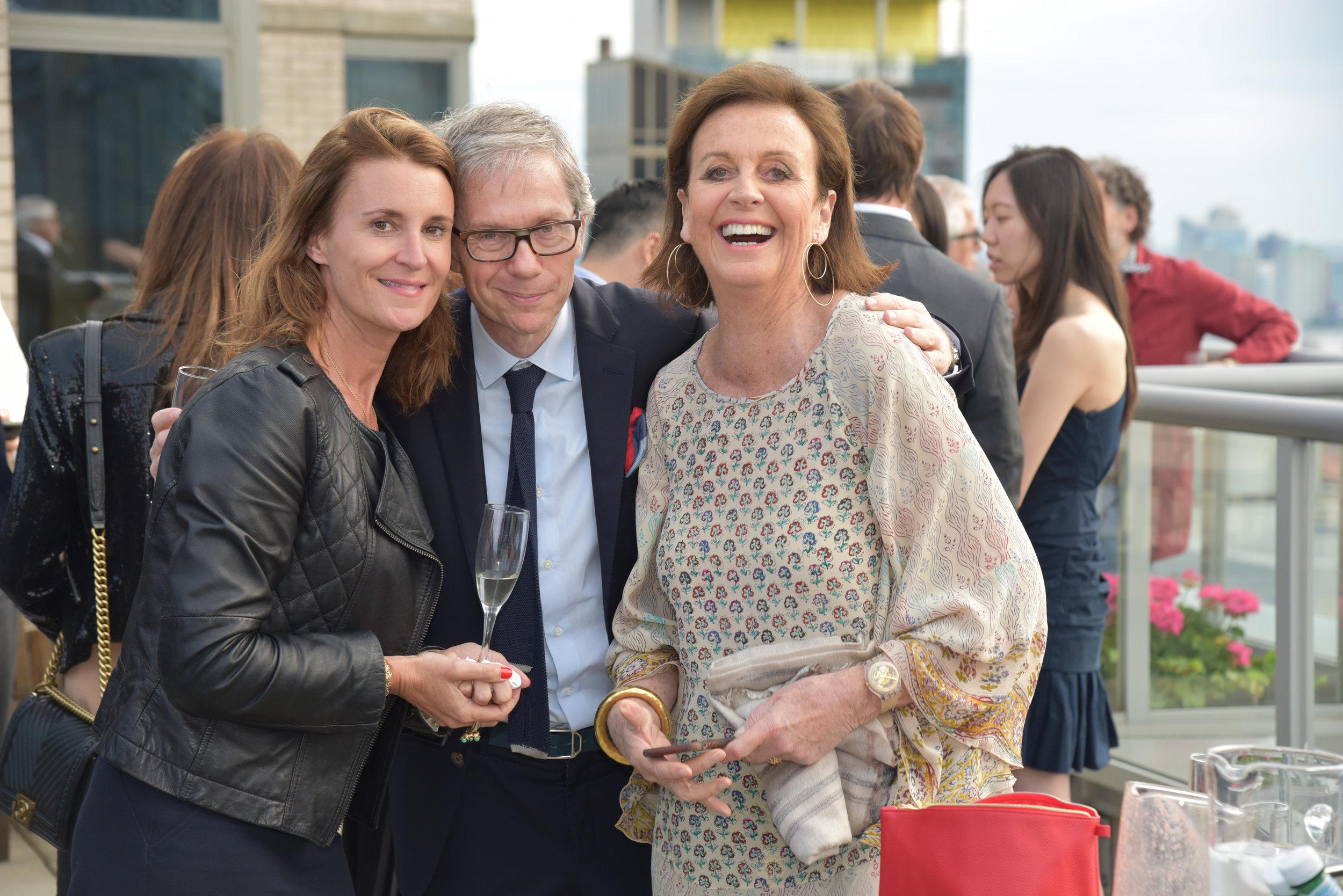 Emmanuelle Grelier, JC Agid, and Veronique Barbey.