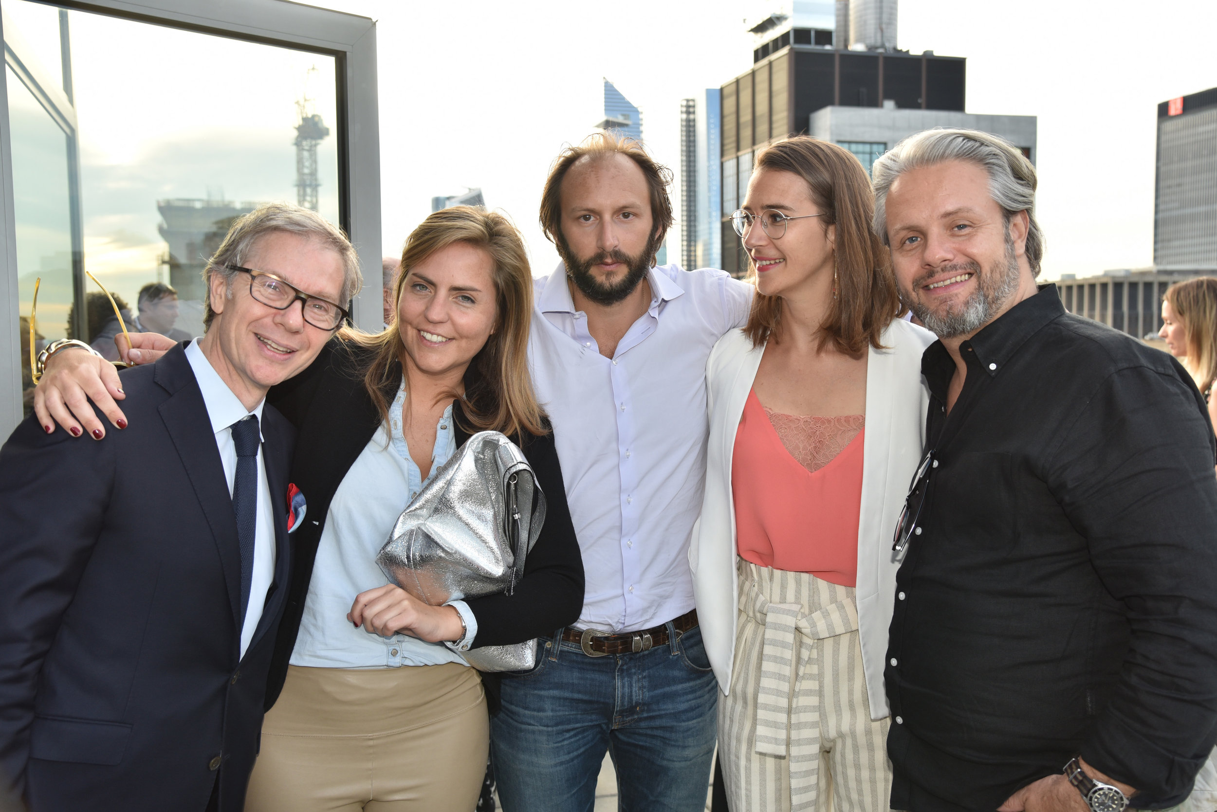 JC Agid, Margo Du Besset, Stanislas Thierry, Melite De Foucaud, Thomas Lambert.