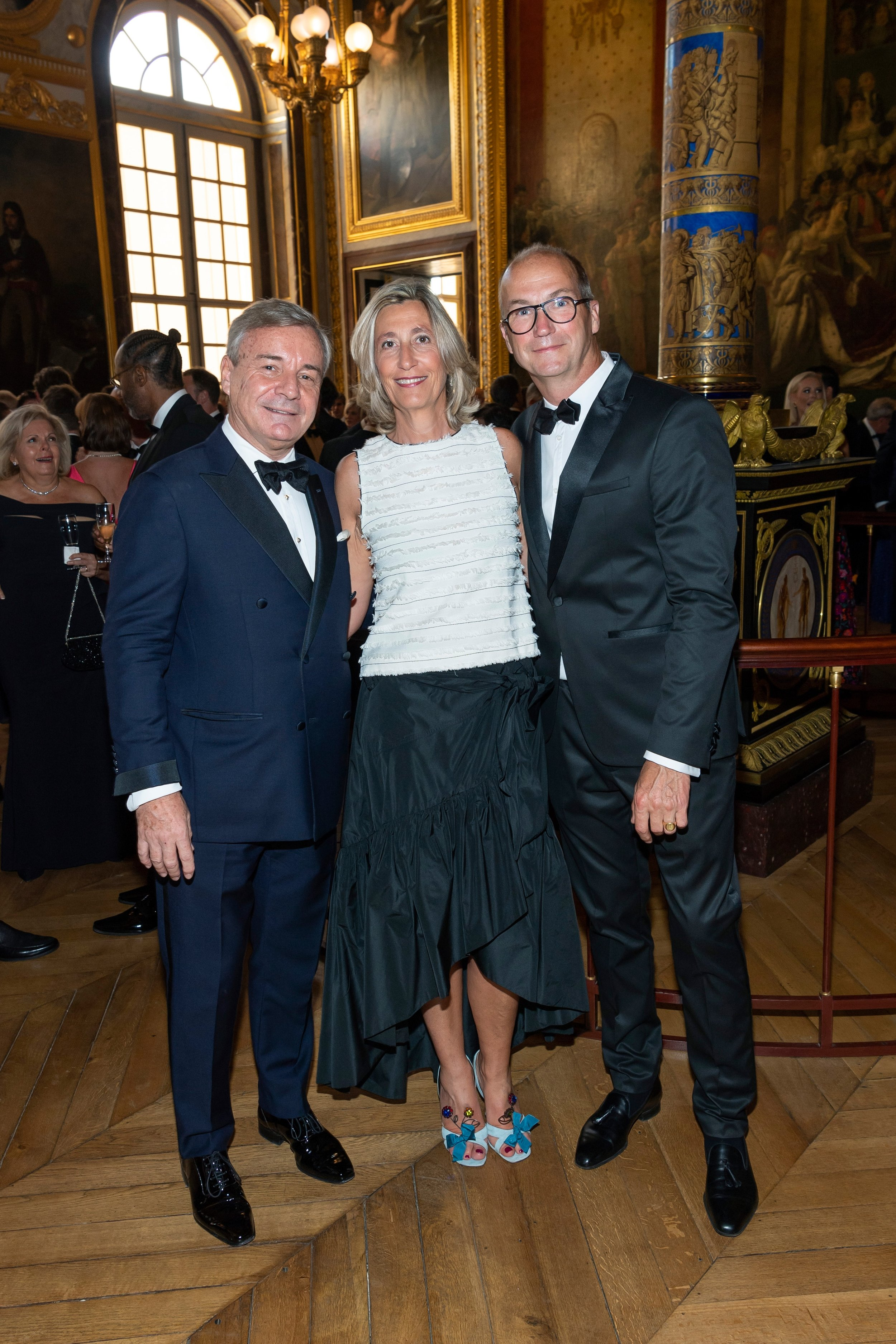 Franck Laverdin, Countess Diane de Montrichard, Count Thierry de Montrichard