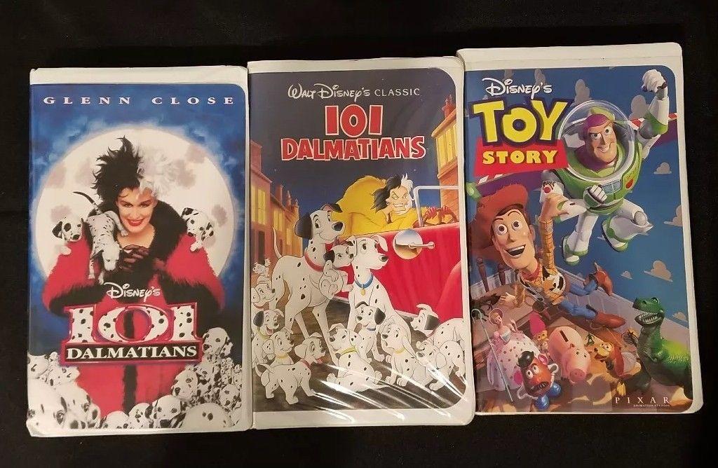 vintage Disney vhs tape lot (Set of 3)  $12.99