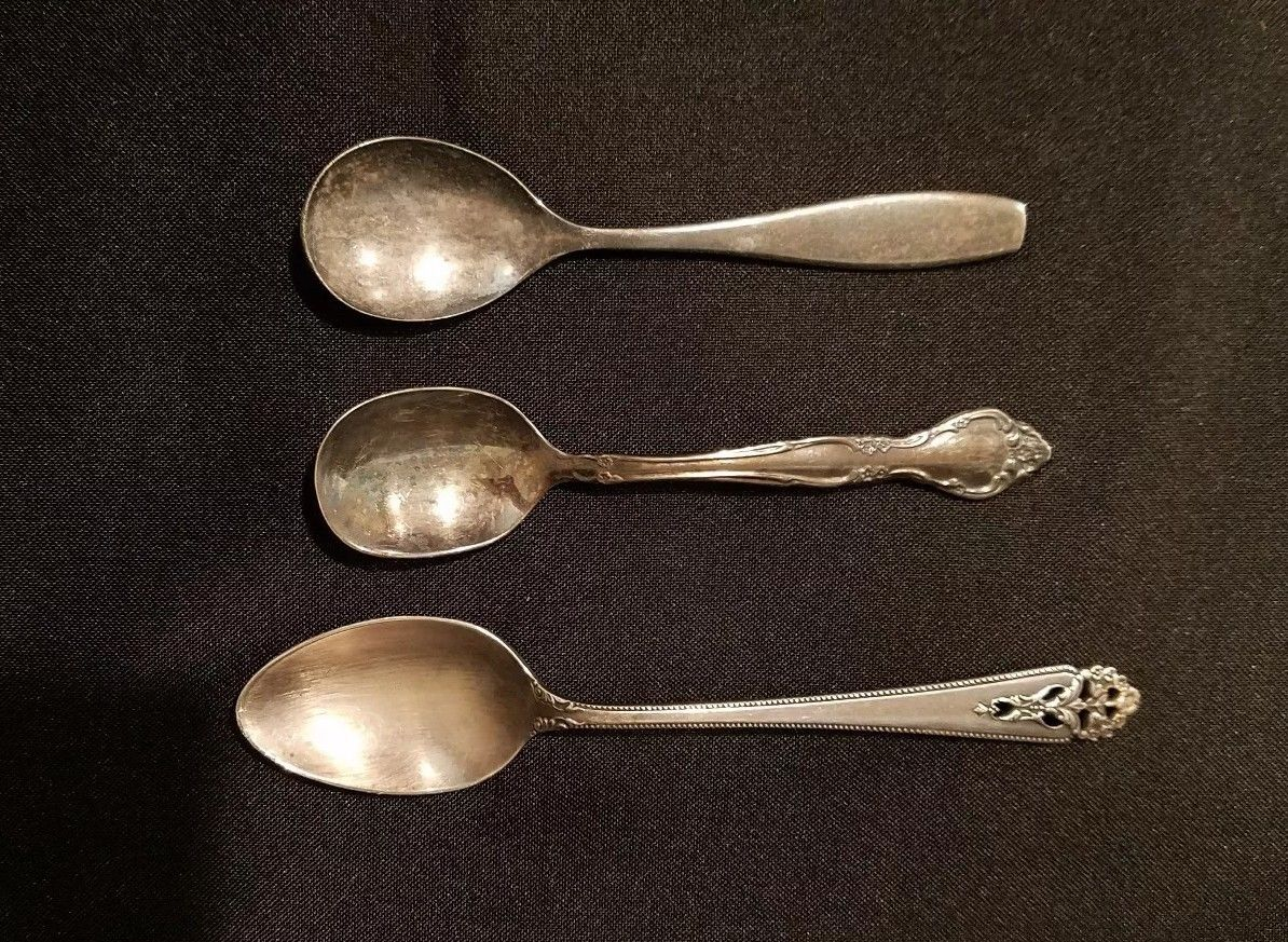 Vintage Silver spoon lot (set of 3)  $39.99