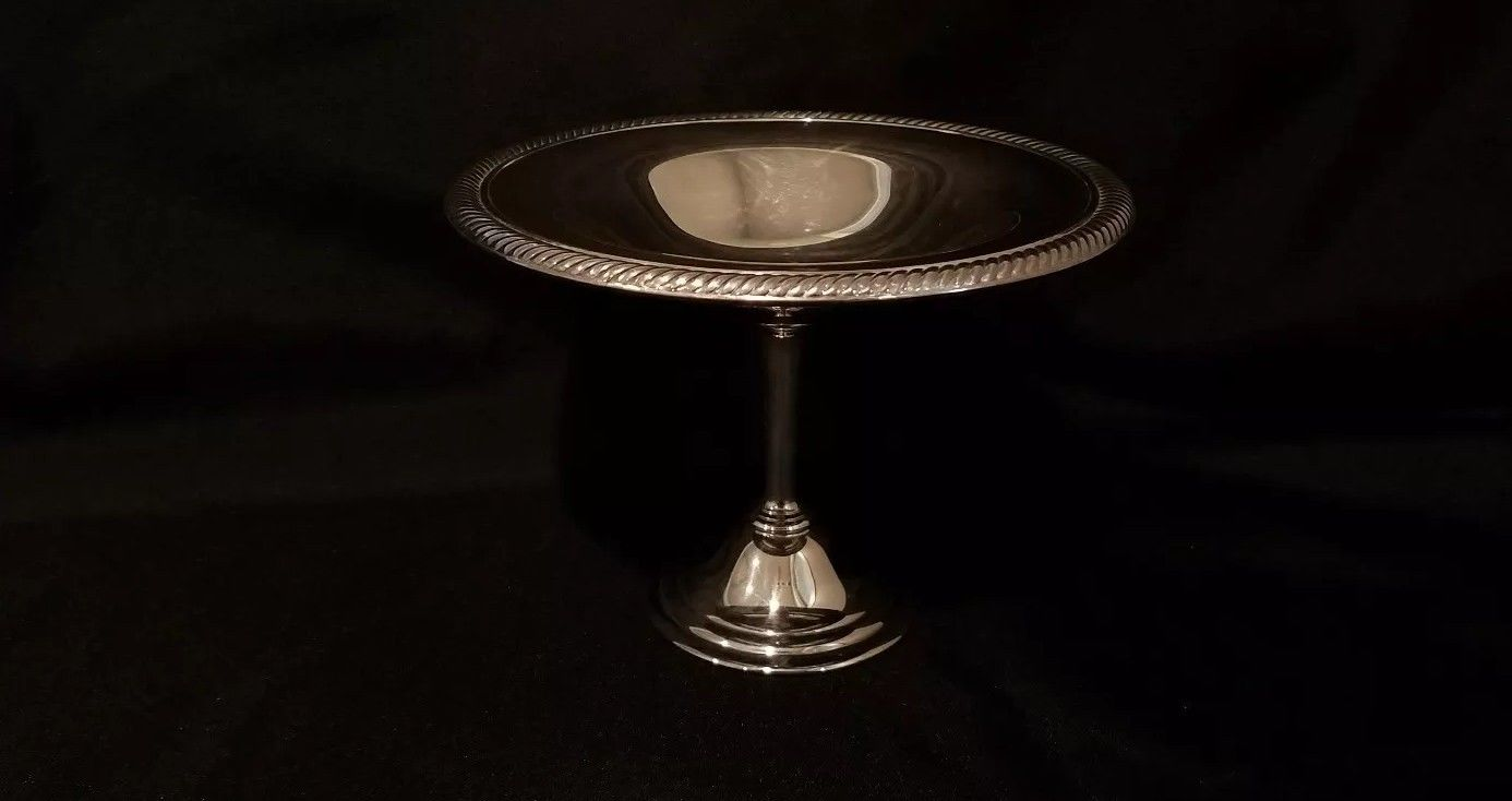 Vintage Silver Compote CAndy Dish  $29.99