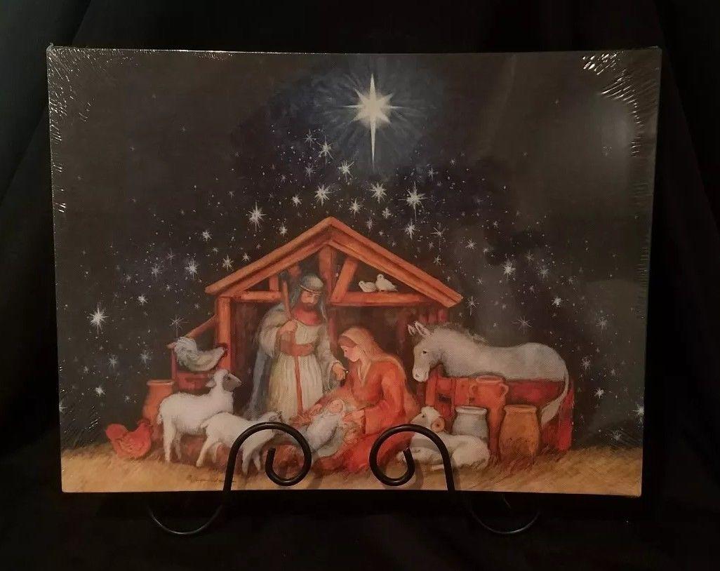 illuminated nativity scene  $34.99