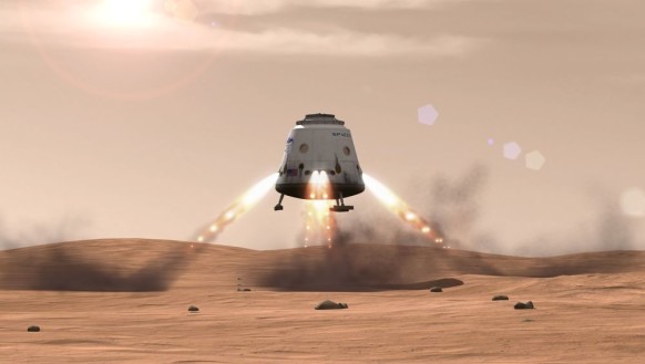 mr musk says mars by 2018... up up & away