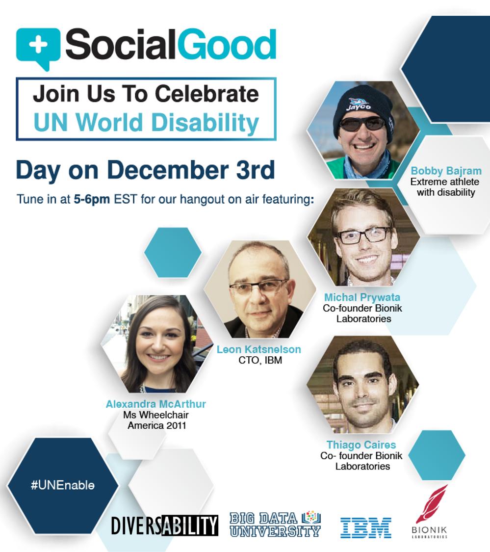 UN World Disability Day flyer