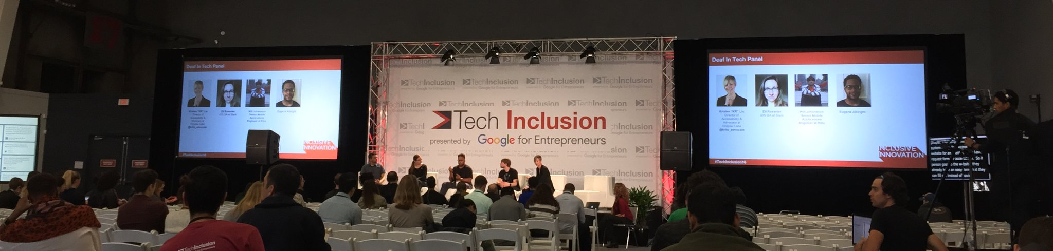 Deaf in Tech at #TechInclusion16