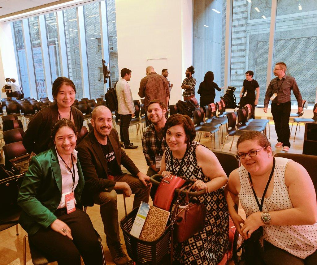 Diversability community members (L-R): Xian, Hiro, Thomas, Sam, Kieran, and Emily