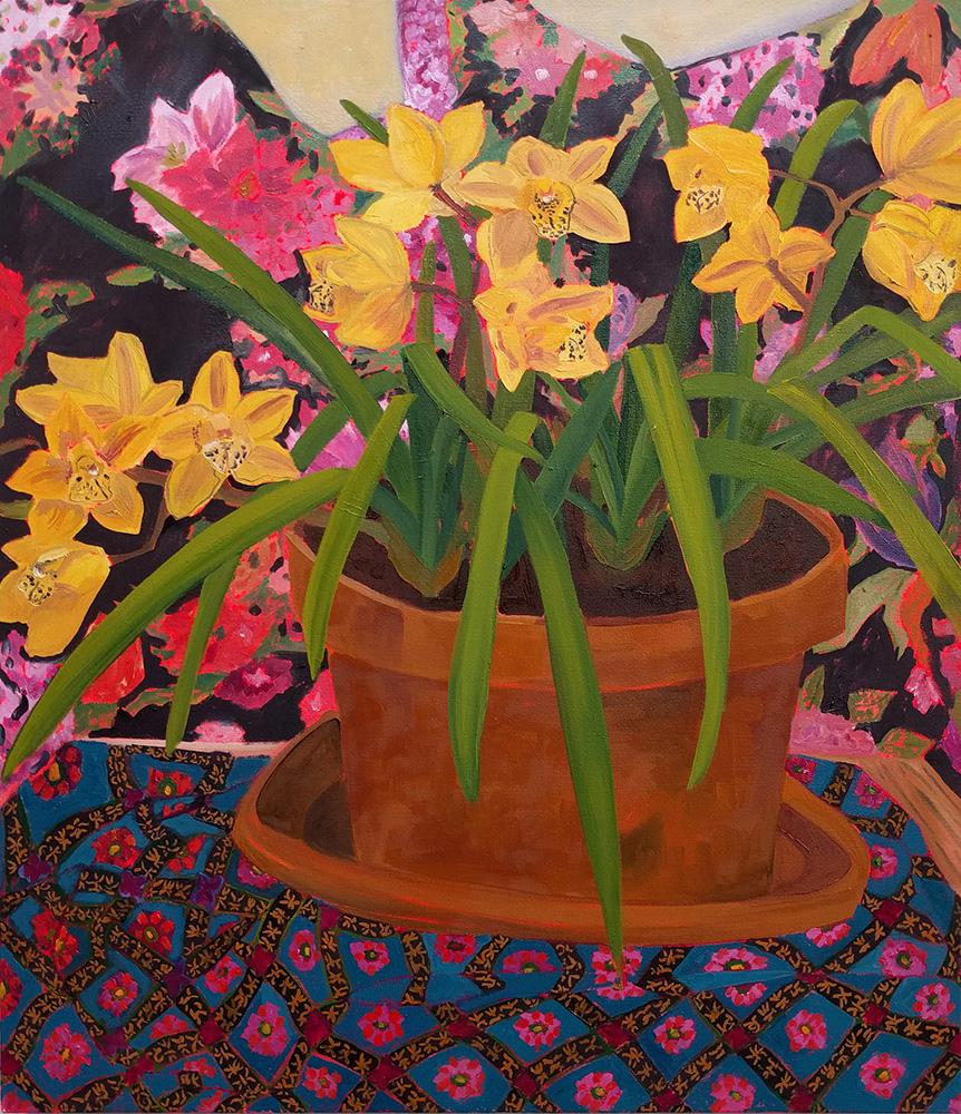 A Riot of Patterns & Plants by Anna Valdez