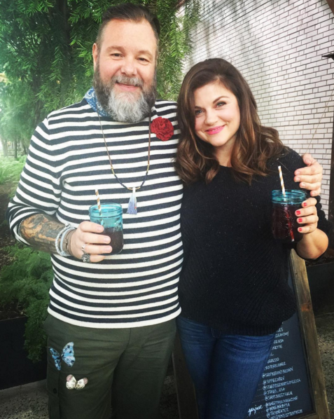Sweet Paul with special guest Tiffani Thiessen (via  @sweetpaulmagazine )