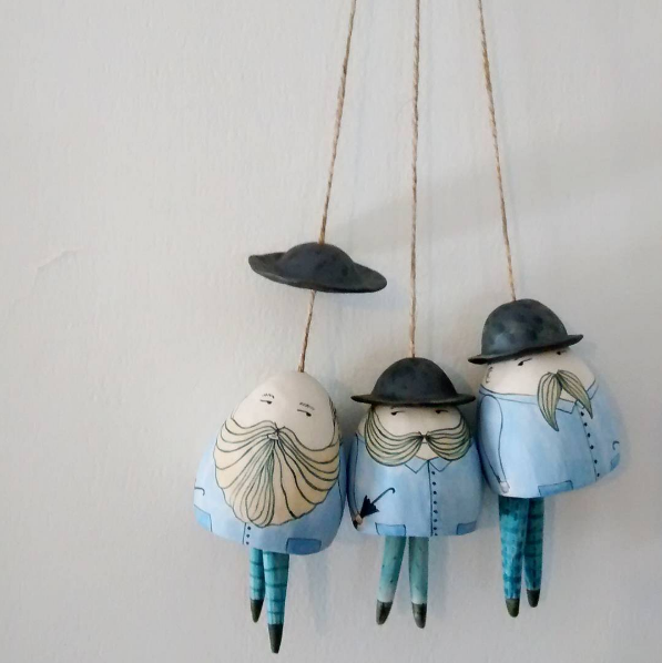 Yen Yen Lo's Ceramic Bells | A Good Yarn