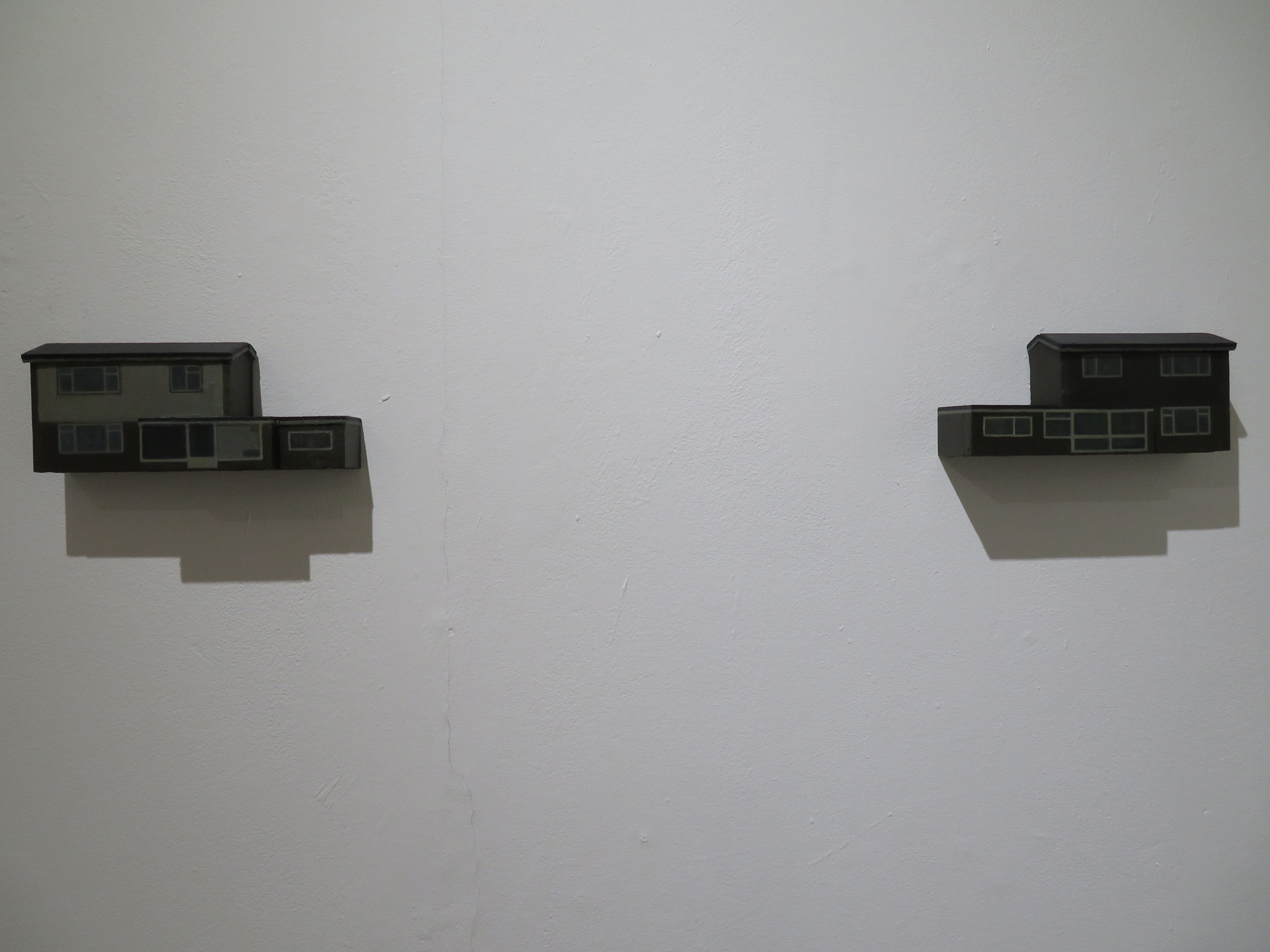 House no.12a & 12b (diptych)