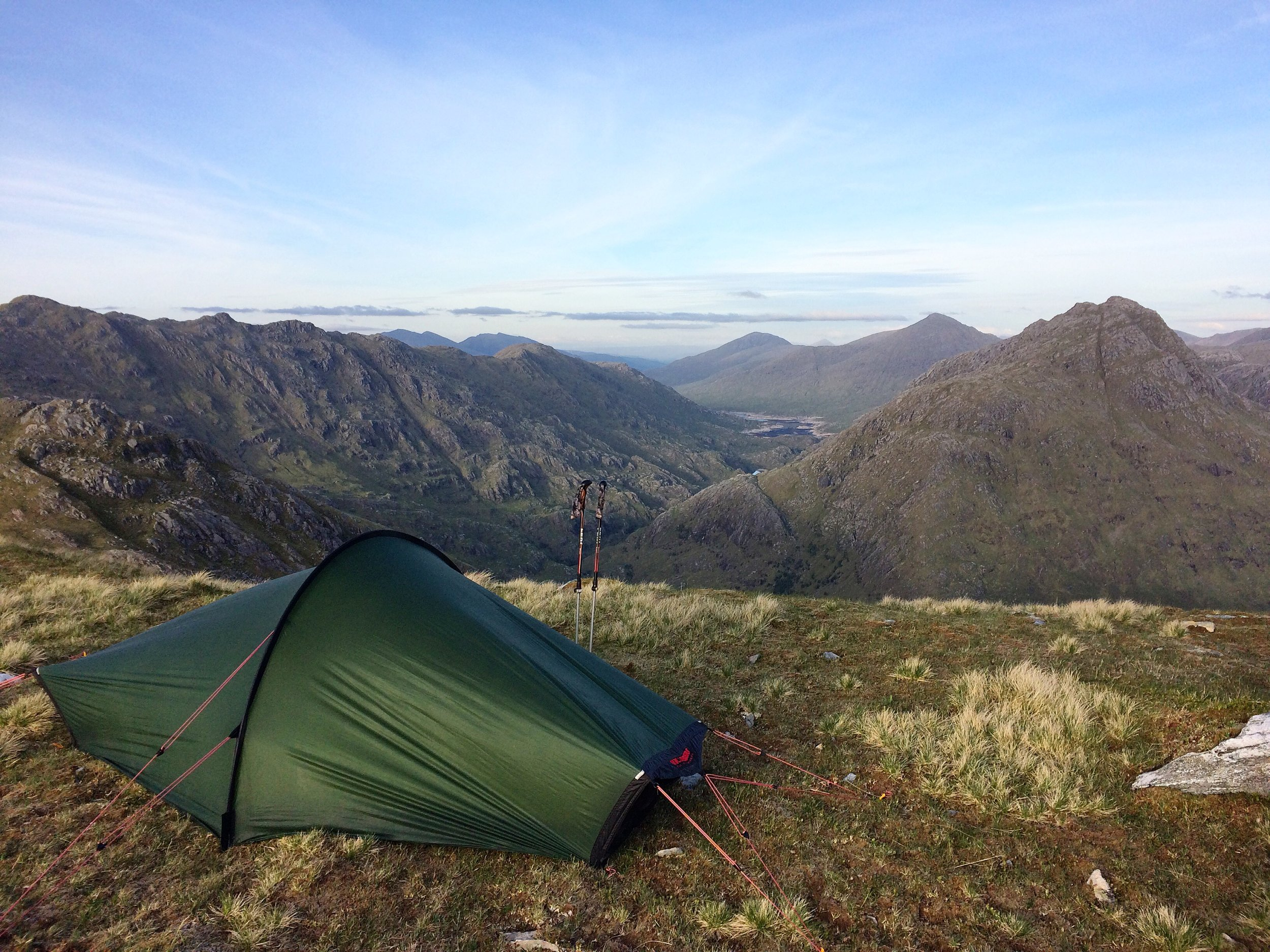 One of my favourite wildcamps to date: on a 6 day epic from Mallaig to Inverie through the Rough Bounds of Knoydart.