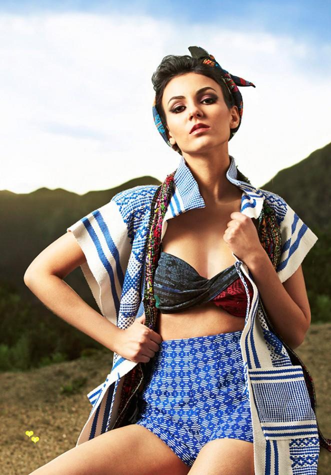 Cosmo for Latinas Magazine - Victoria Justice