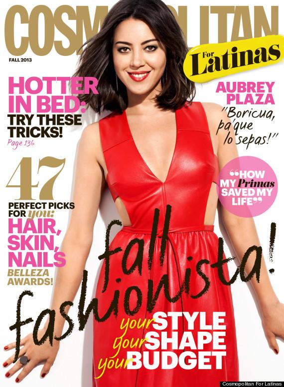 Fashion Editor: Laura Zapata. Stylist: Brad Goreski. Cover, Cosmo for Latinas .