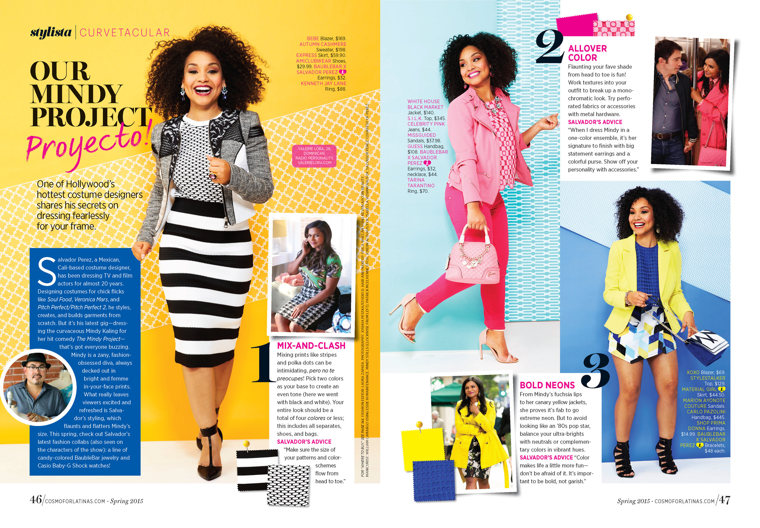 Fashion Editorial, Cosmo for Latinas