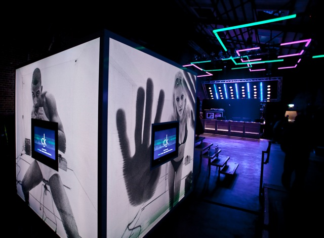 """CK One's experiential brand events included concerts, dance parties,giveaways, and """"Get in the Box""""-themed video booths."""