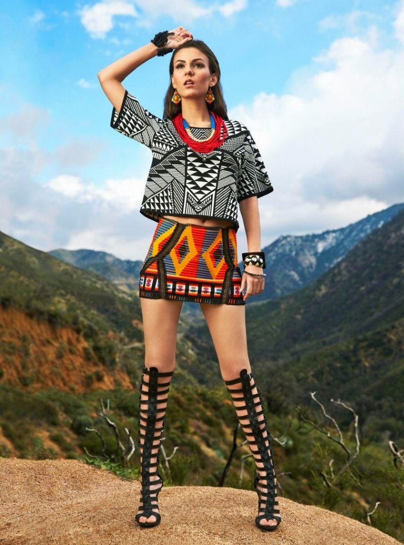 Cosmopolitan.com & Cosmo for Latinas Magazine Celebrity Fashion Feature (Victoria Justice). Photo: Tom Corbett.