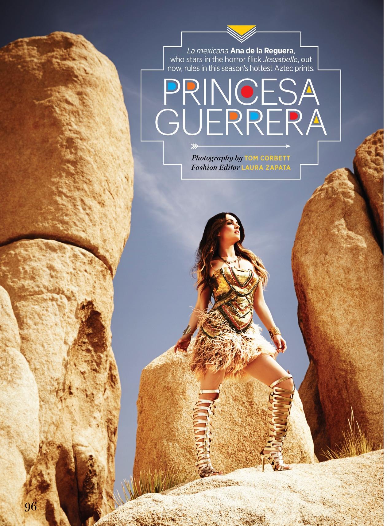 Cosmo for Latinas Magazine - Ana de la Reguera