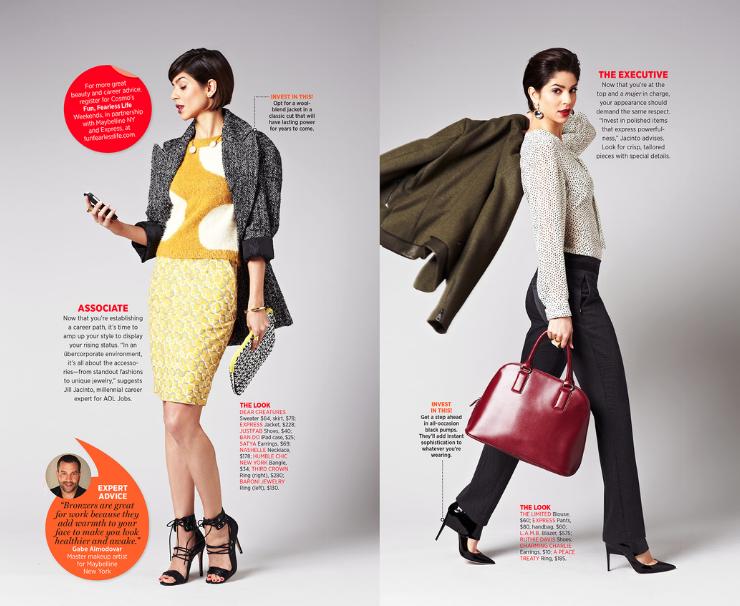 Cosmo for Latinas   Magazine x Express Branded Content. Photo: Joshua Pestka.