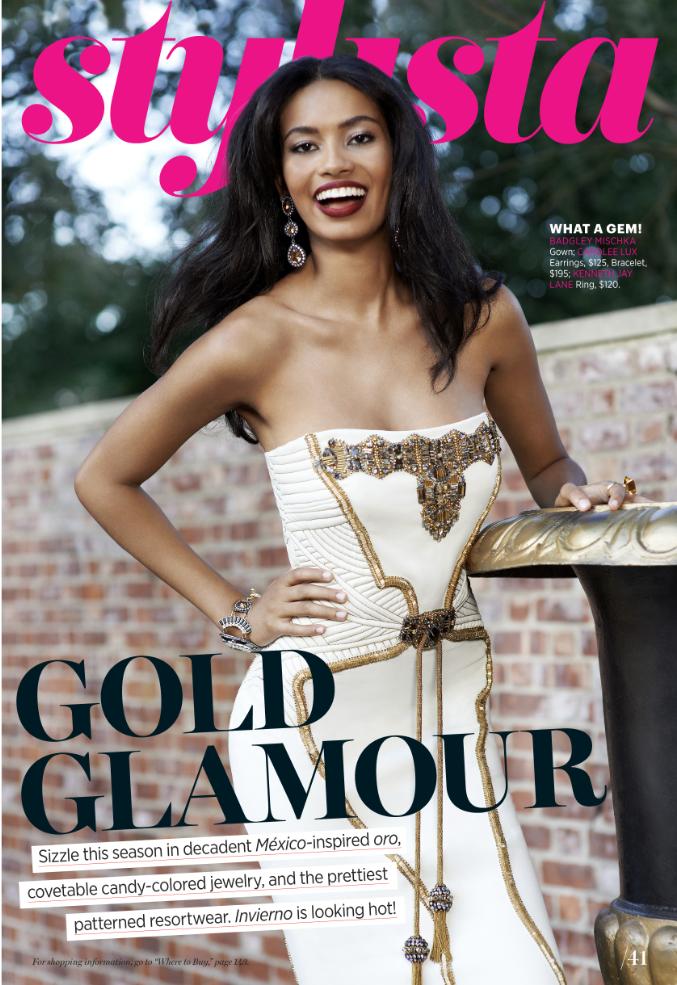 Cosmo for Latinas Magazine Fashion Opener. Photo: Naomi Kaltman.