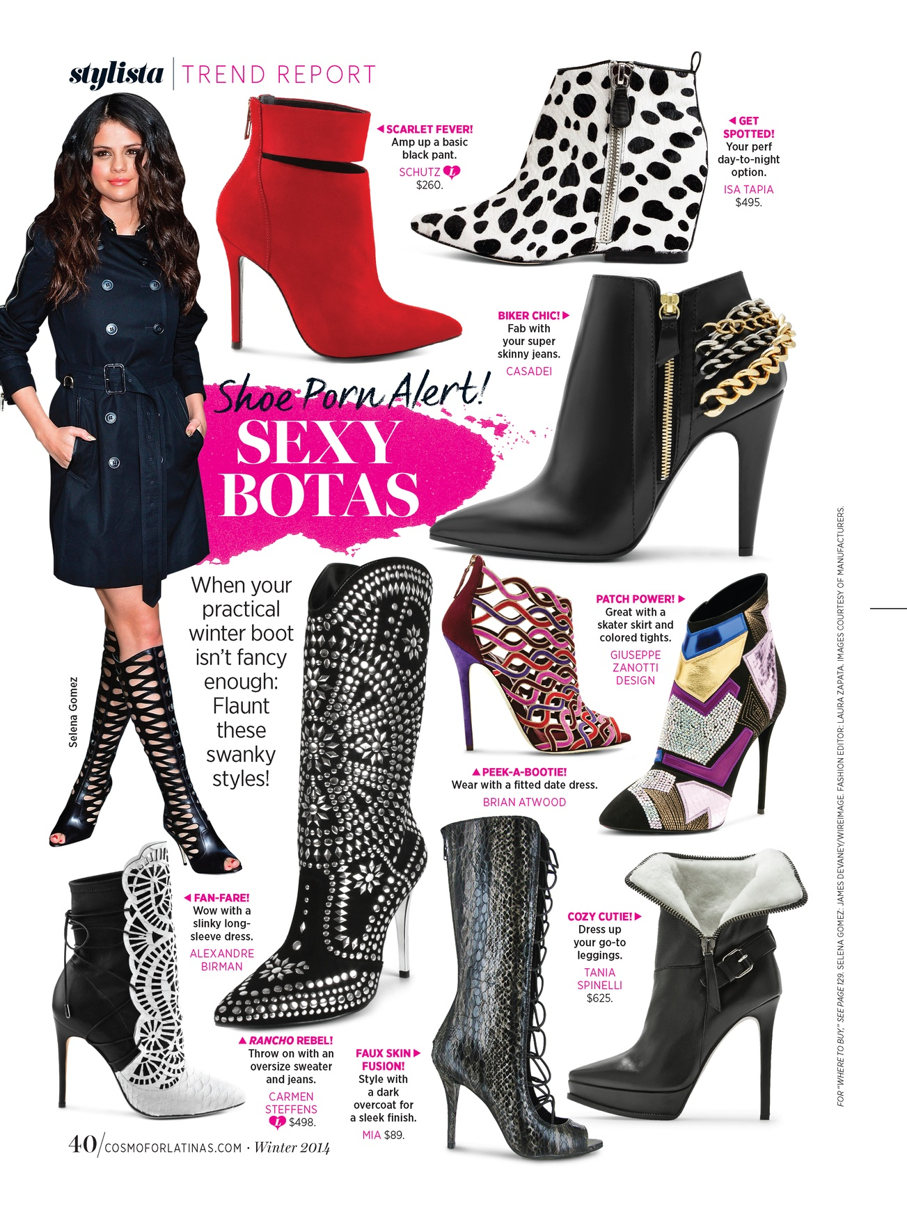 Trend Direction & Fashion Editor: Accessory Trend Report (FOB) -  Cosmo for Latinas.