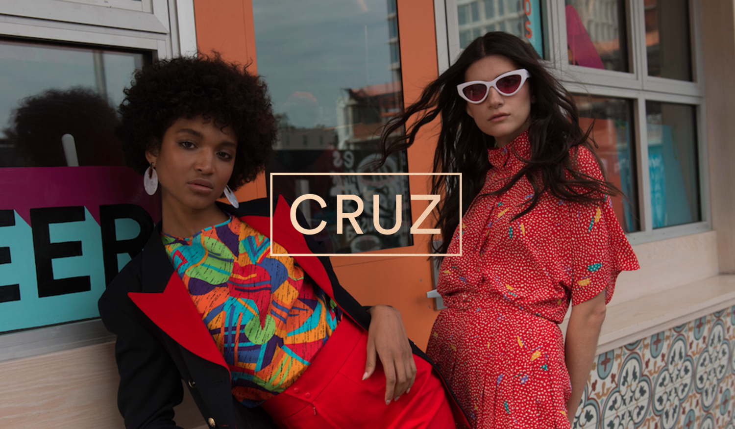 Creative Direction, Fashion Direction & Stylist - CRUZ Vintage (cruzstyle.co) digital editorial Look book, brand campaign.