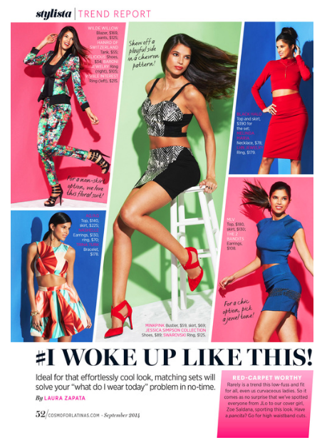 FOB Trend Report, Cosmo for Latinas