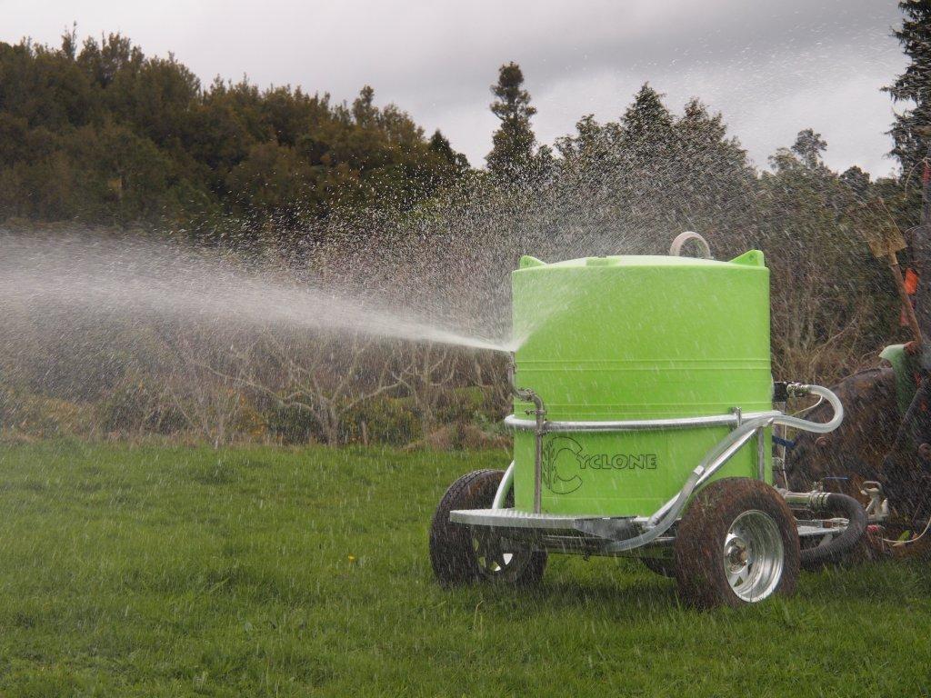 Cyclone Multi-Task Trailer Sprayer for on-farm fertilisation