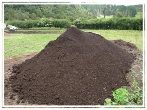 Beautiful finished compost ready for shipping from Chaos Springs to all over the country