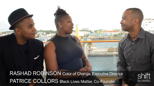 Black Lives Matter co-founder Patrice Cullors and ColorOfChange's Rashad Robinson join MSNBC for an interview following their Summit At Sea panel. They illustrate the importance of fighting for equal justice and ponder on the future of the Black Lives Matter movement.