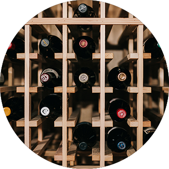 Our team will design a custom storage solution for your wines (including any large format bottles)while leaving room for growth.