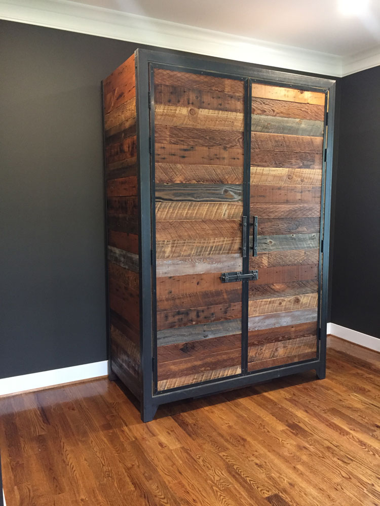 This freestanding Credenza wine cellar is headed off to our client's home in Virginia.