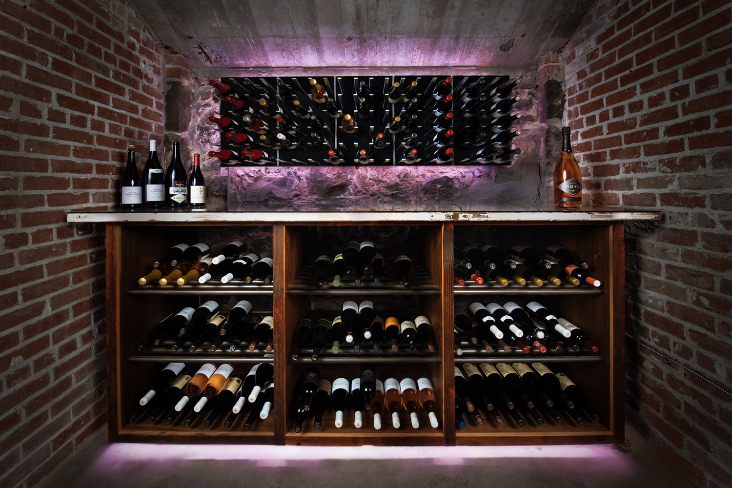 Wilcox Mansion Wine Cave • Sommi Wine Cellars