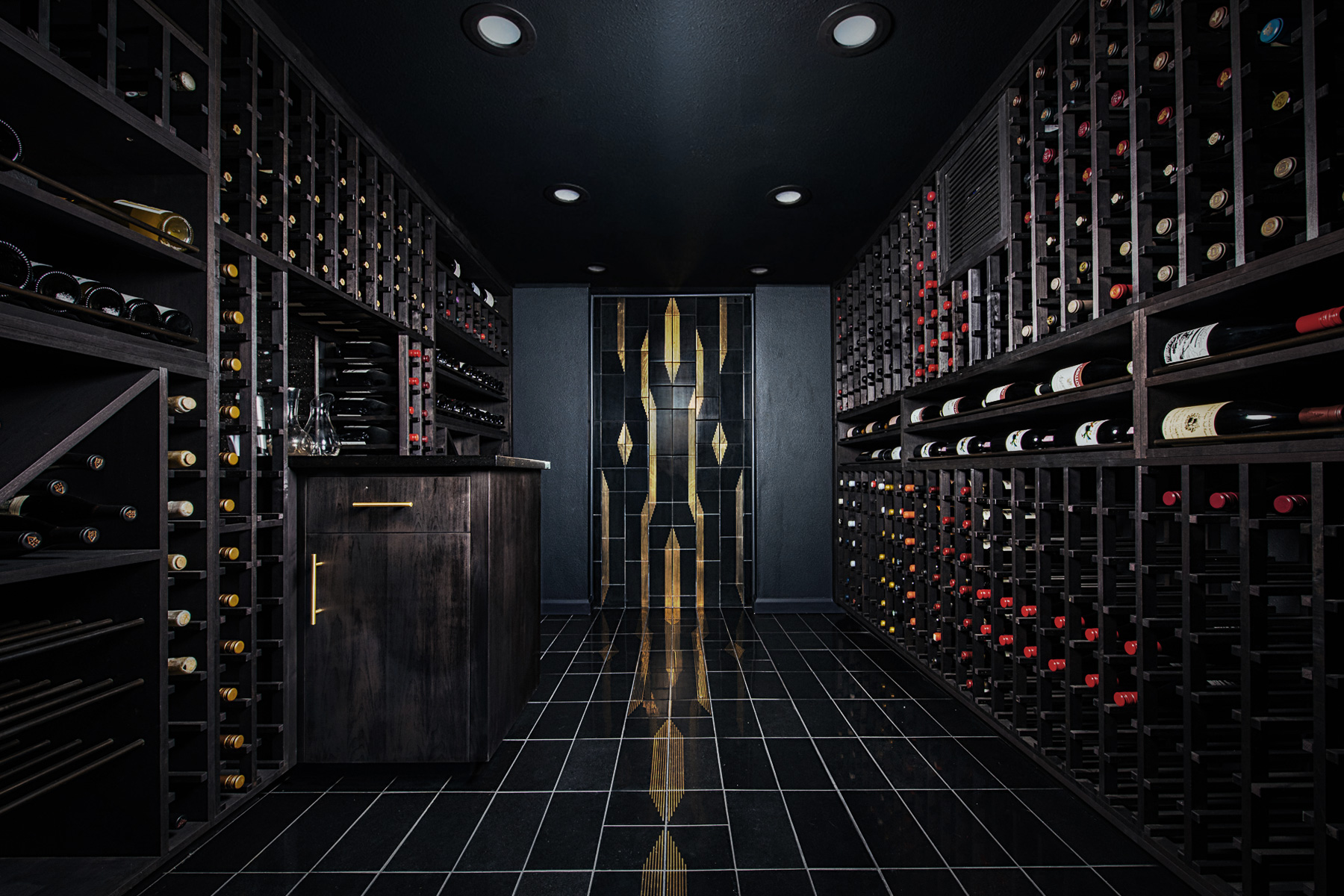 Just because you love old world wines, doesn't mean you have to embrace old world style. Use these modern wine cellar design ideas to get inspired.