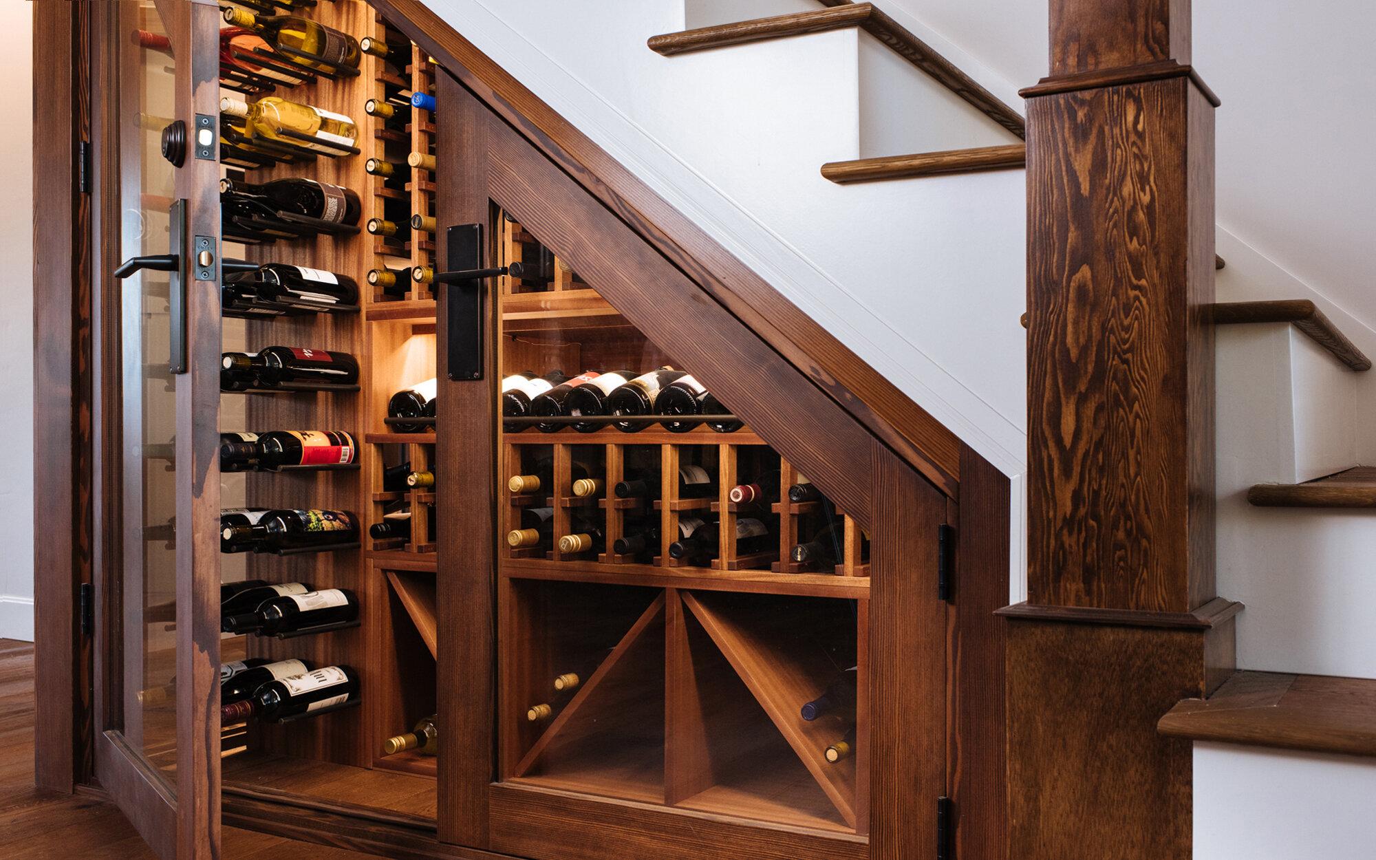 Under Stairs Wine Cellar Sommi Wine Cellars