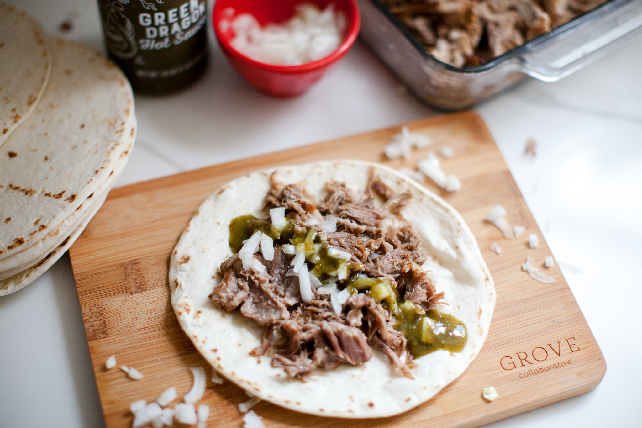 Easy Instant Pot Pulled Pork Taco