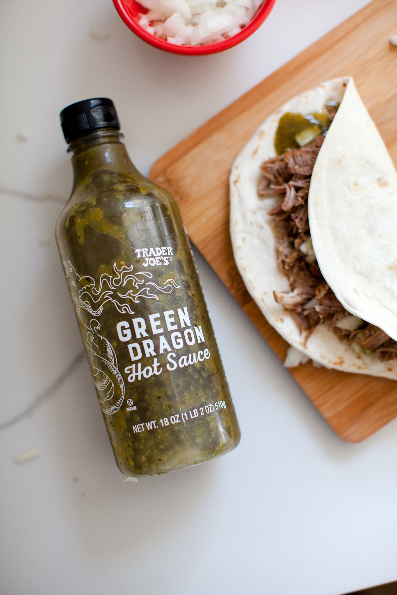 Trader Joes Inspired Easy Instant Pork Tacos