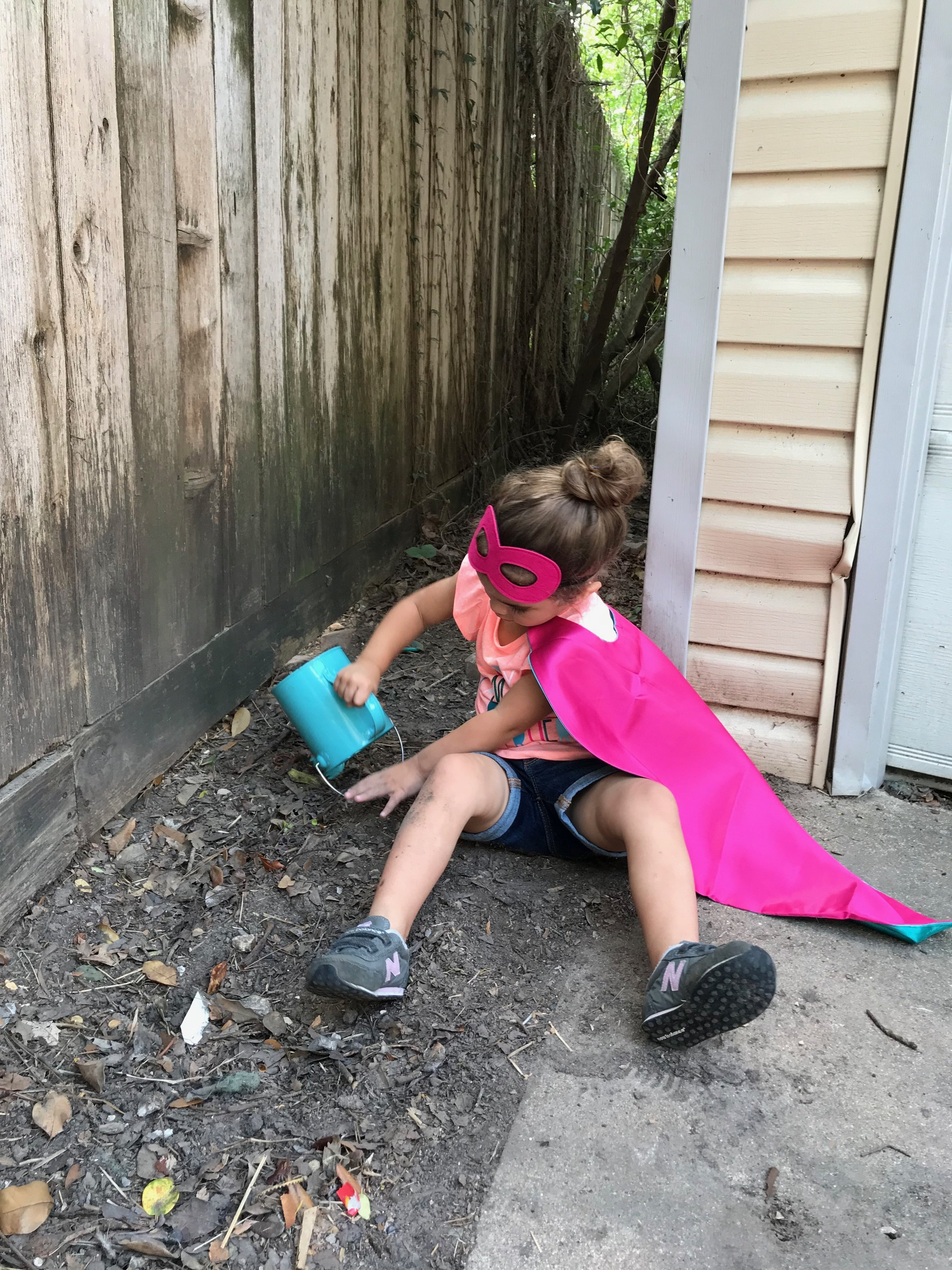 Saying Yes to Messy Sensory Play