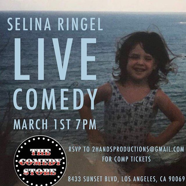 Selina being Selina already has another show, come join us! #overachiever