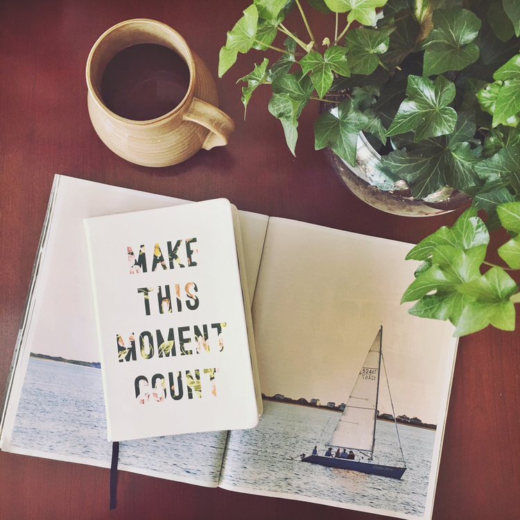 make this moment count and forget fear
