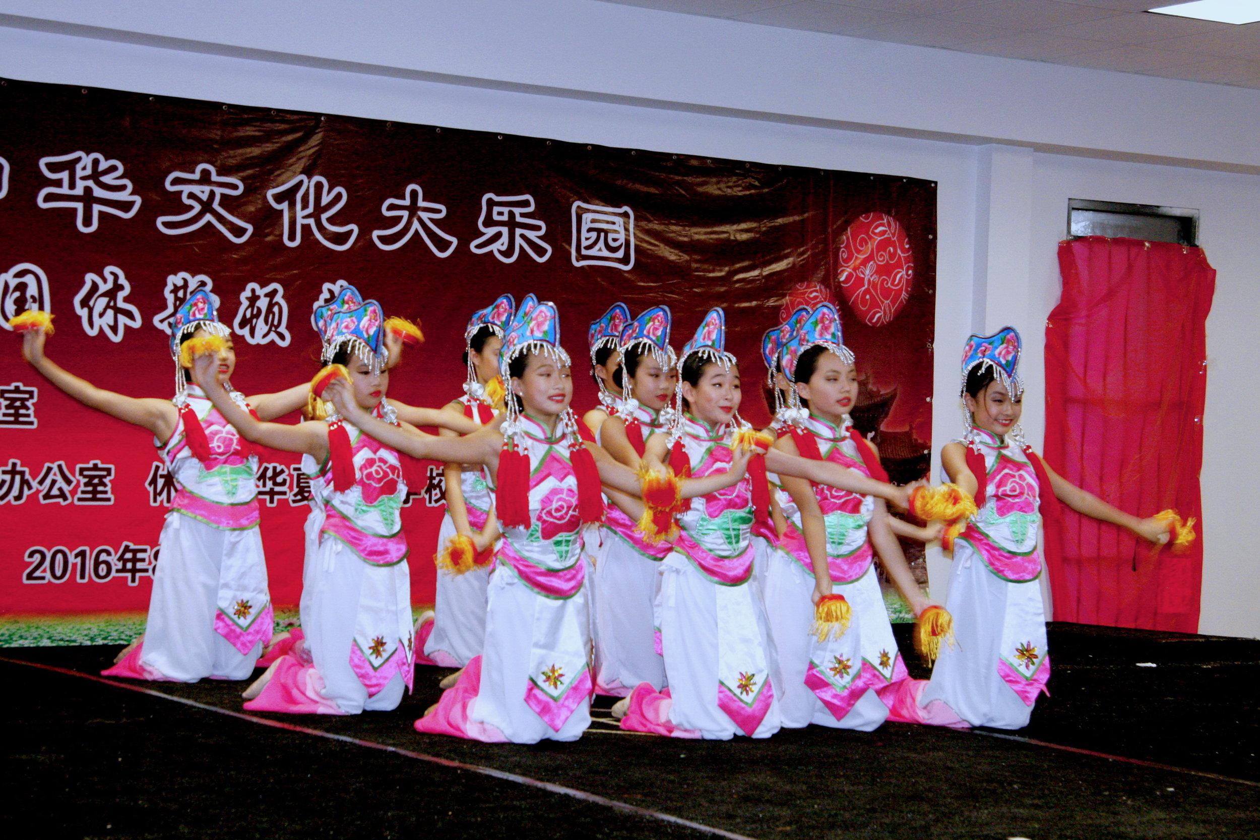 中华文化大乐园小舞者表演。(周洁晓慧舞蹈学校提供)