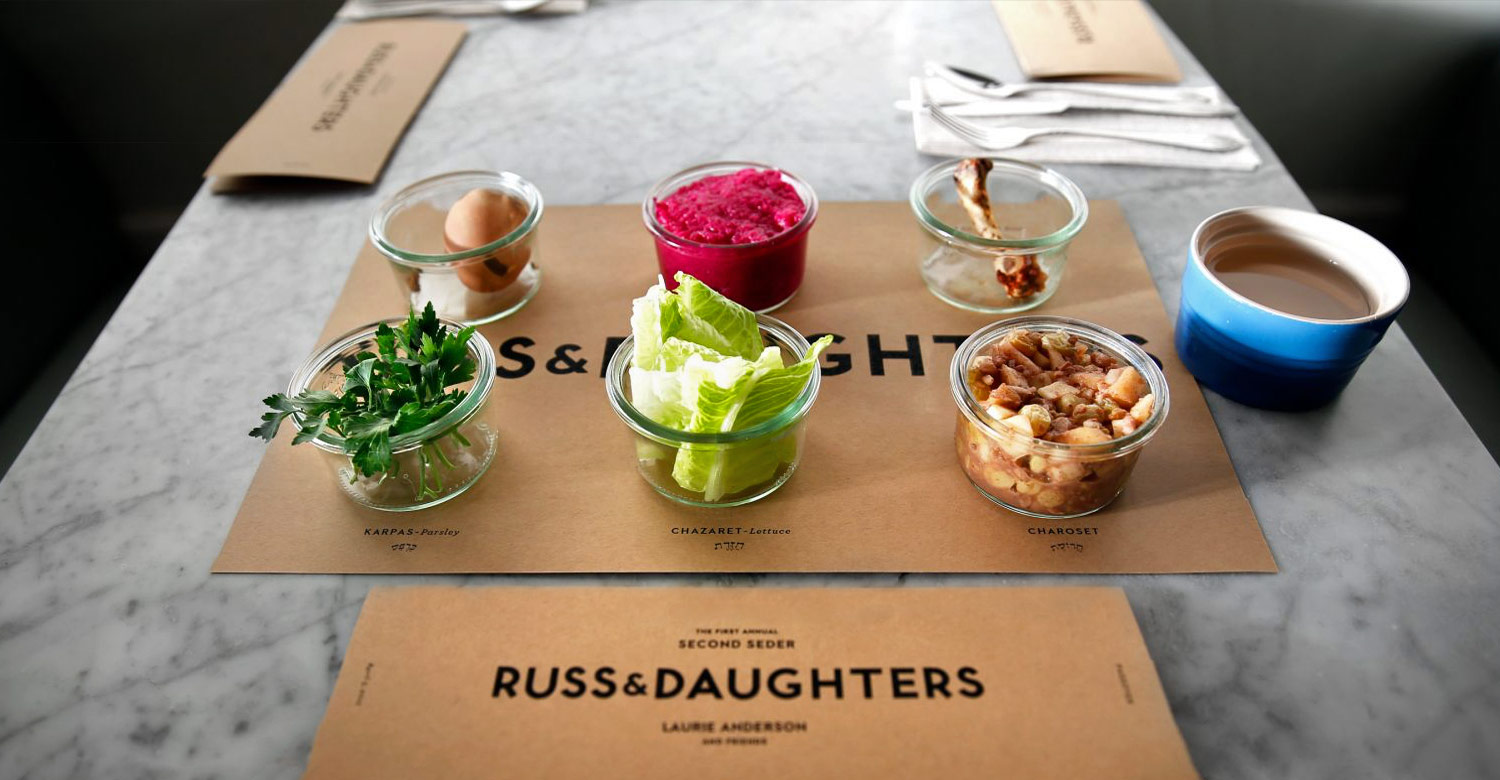 Russ & Daughters Passover Seder