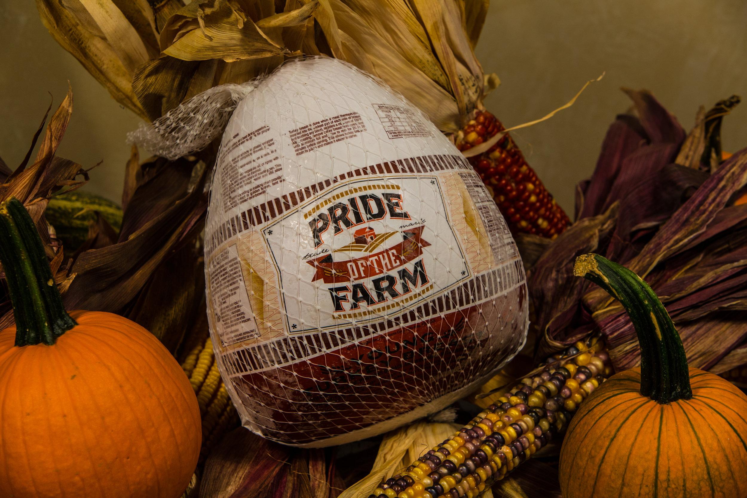 PRide of the farm Bone in turkey breast