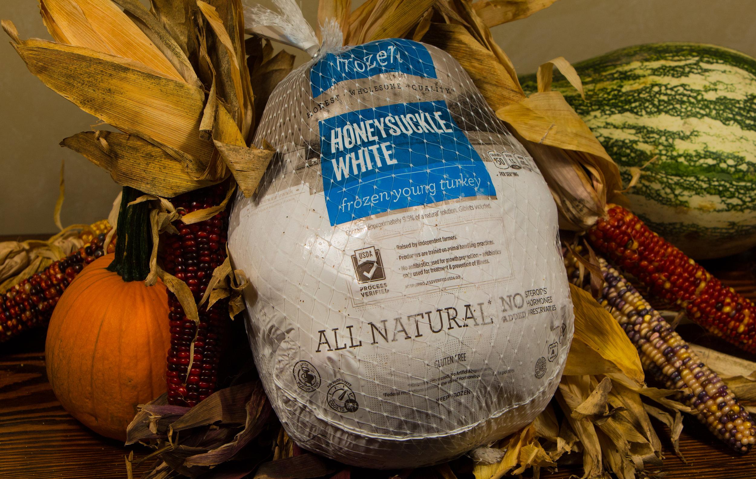 All Natural HOneysuckle white tom turkey