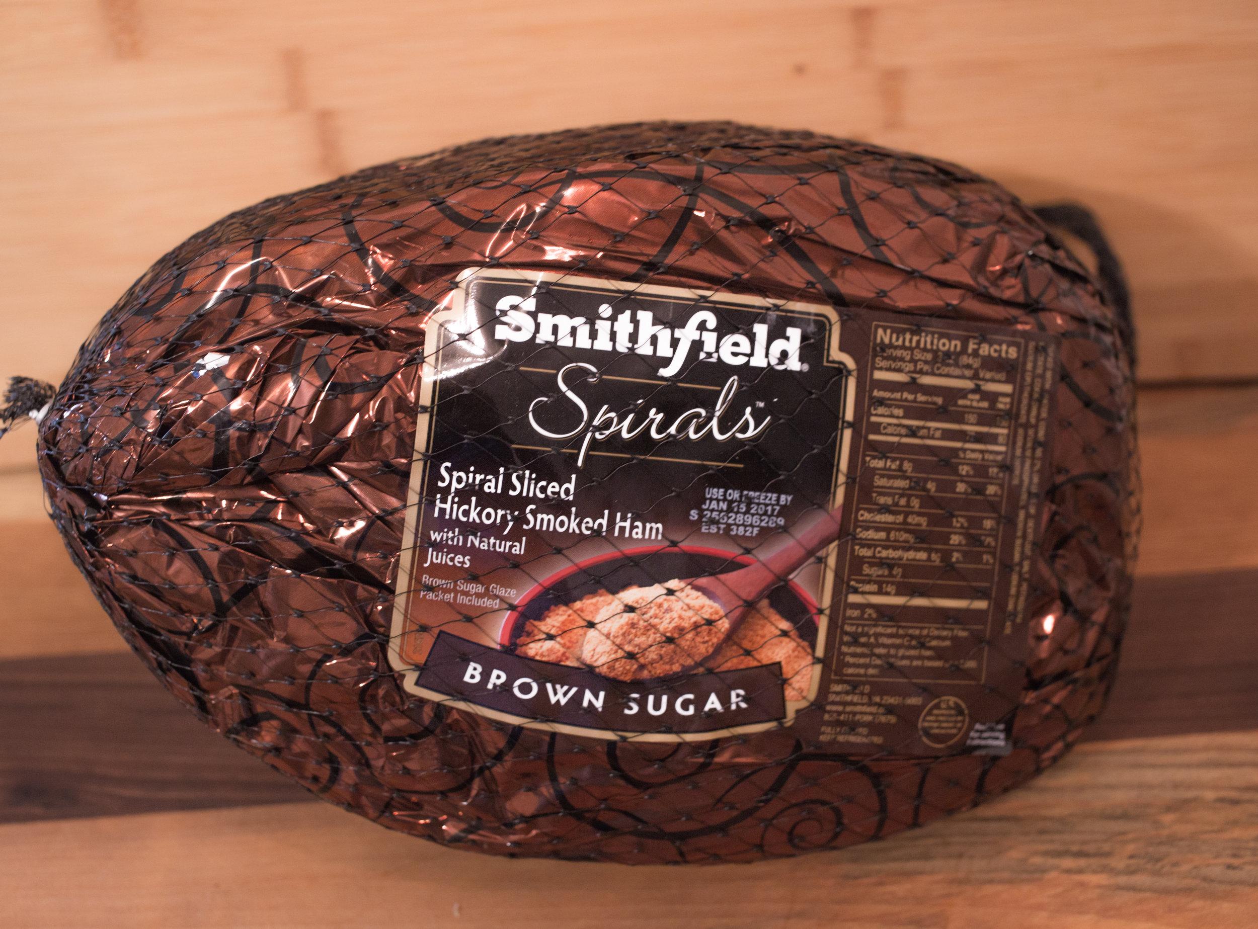 SMITHFIELD spIRAL slICED BROWN sUGAR hAM