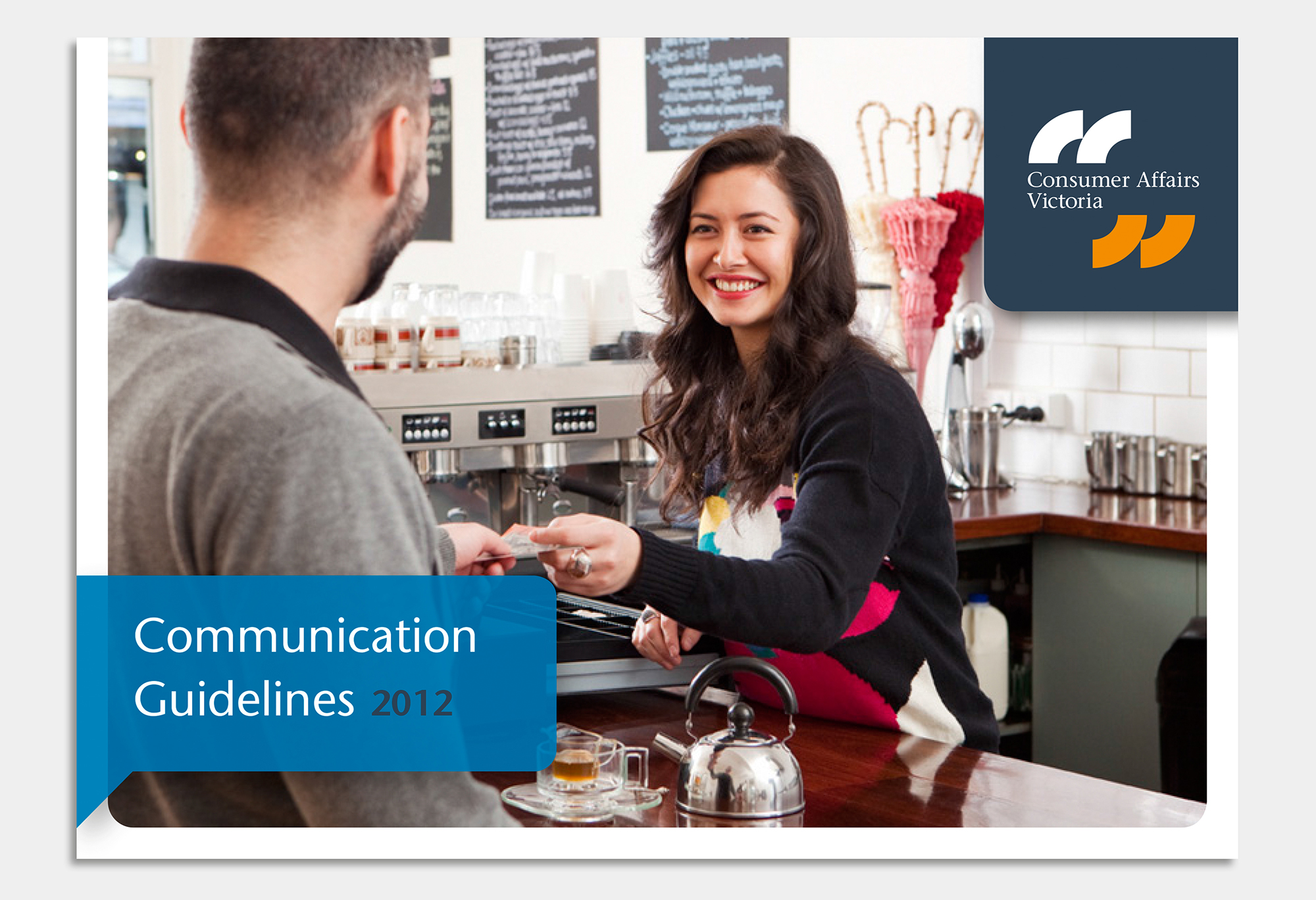 Consumer Affairs Victoria Communication Guidelines cover