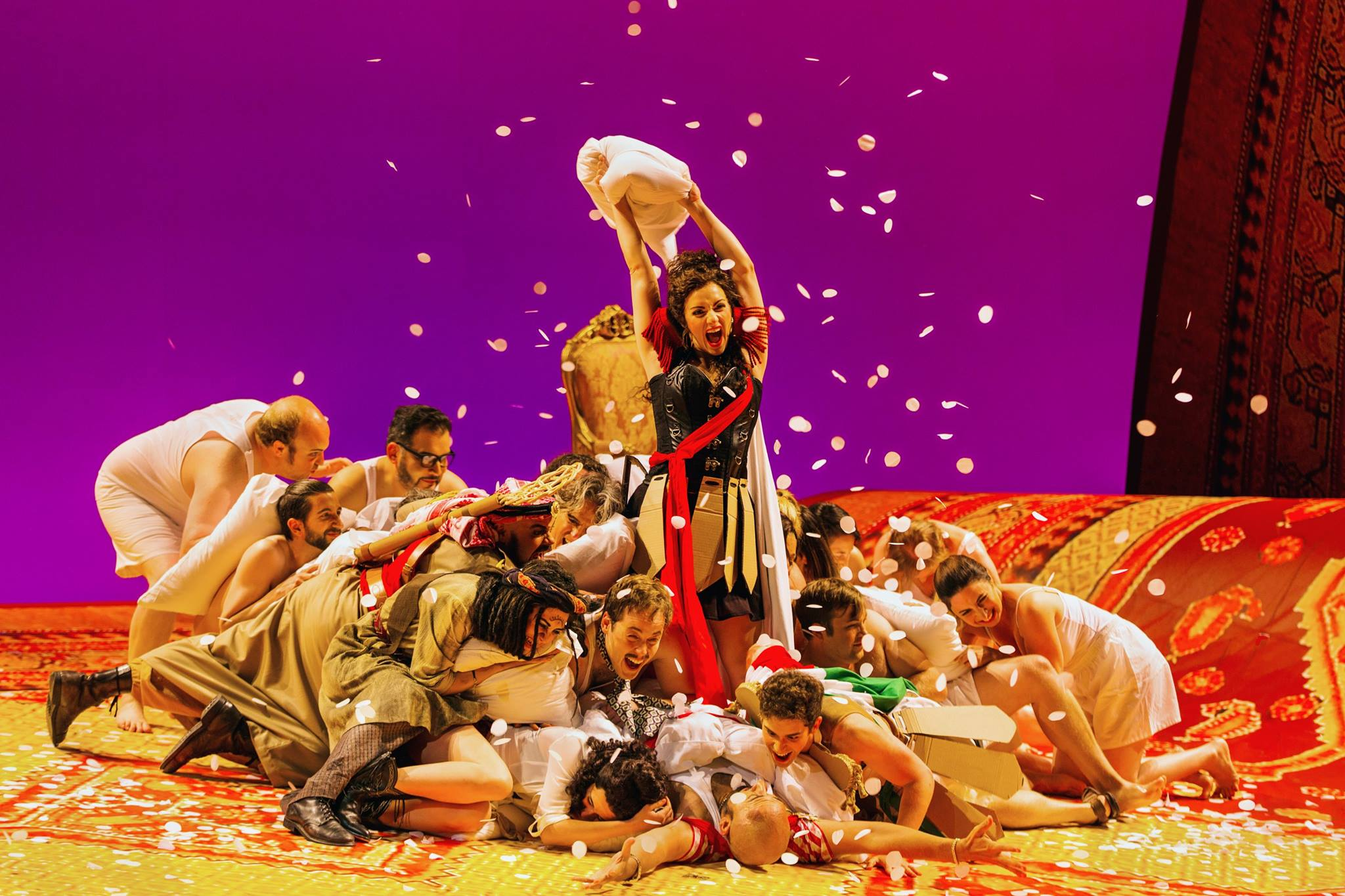 James Matthew Daniel for Portland Opera (Isabella, L'italiana in Algeri)