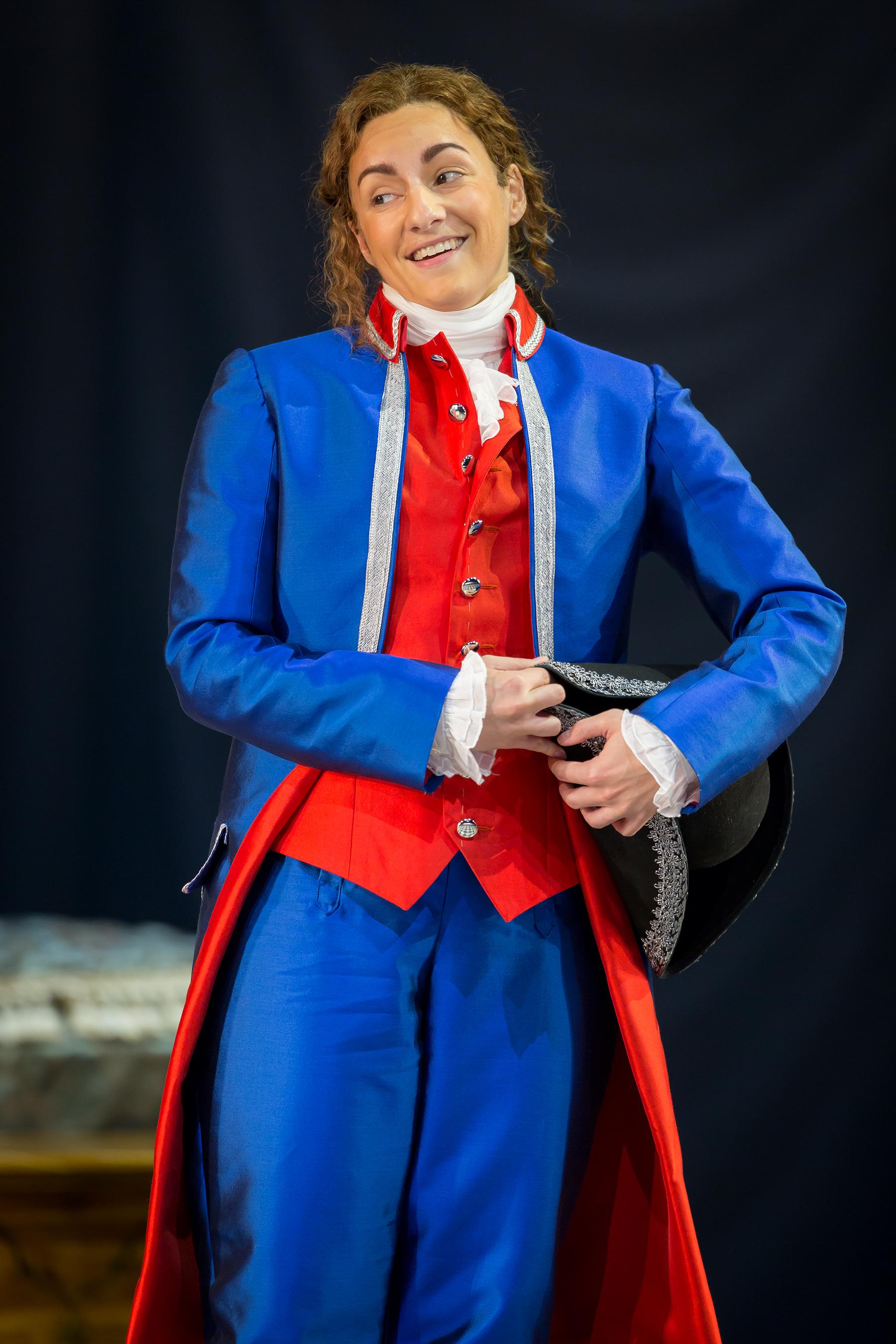 Scott Suchman for Washington National Opera (Cherubino,  Le nozze di Figaro)