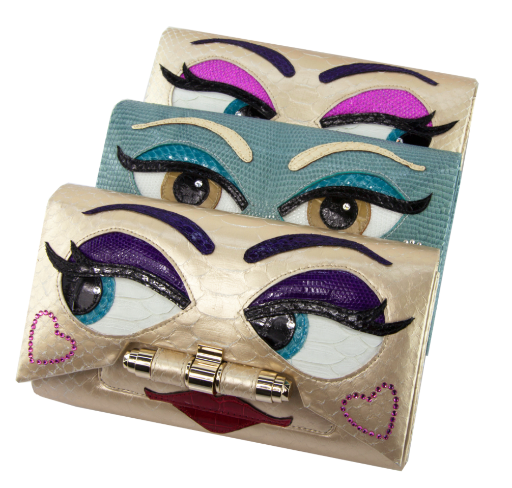 Handbags from Kara's new line called#MyPURSEonality are totally customizable.