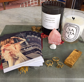 These are a few of Brooke's favorite things. Everyone loves that Santal candle, and for good reason. Smell that shit, y'all!